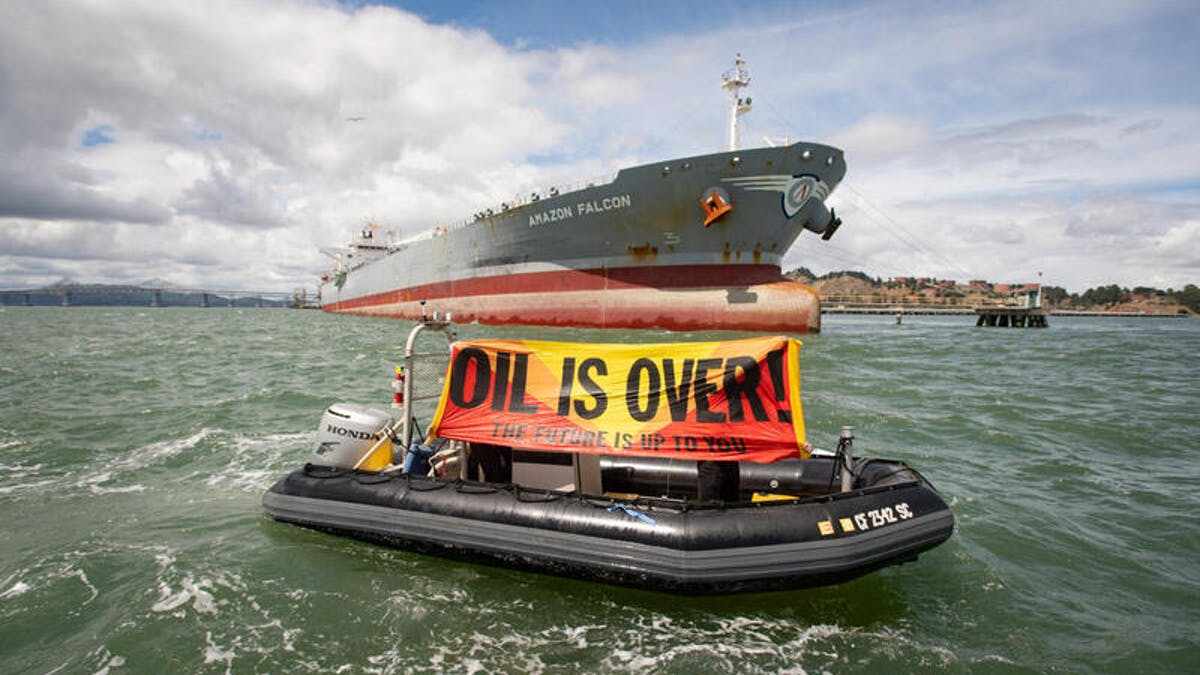 Oil is over!