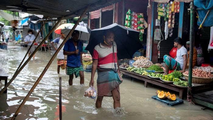 village flooding Bangladesh