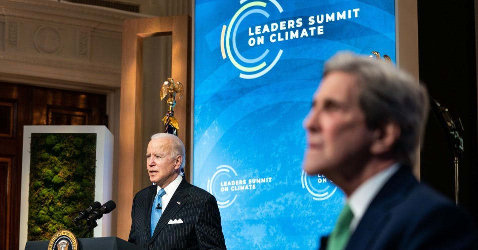 President Biden and Special Envoy for Climate John Kerry