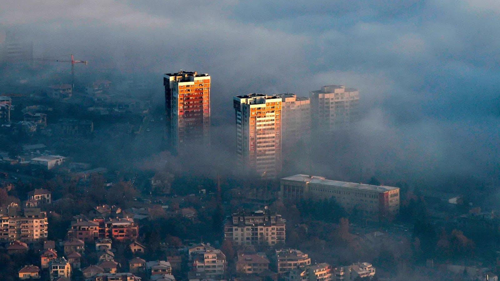 Romania smoke air pollution