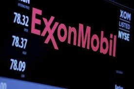 Exxon Mobil logo stock market shareholders