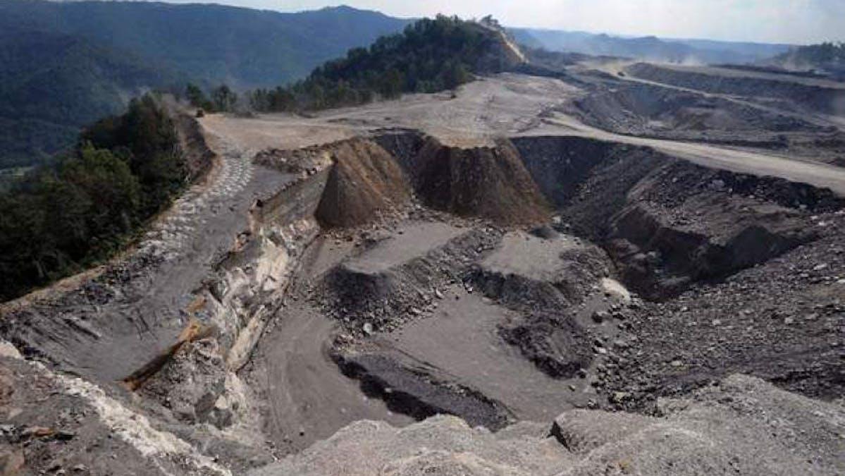 coal mine mountaintop removal West Virginia