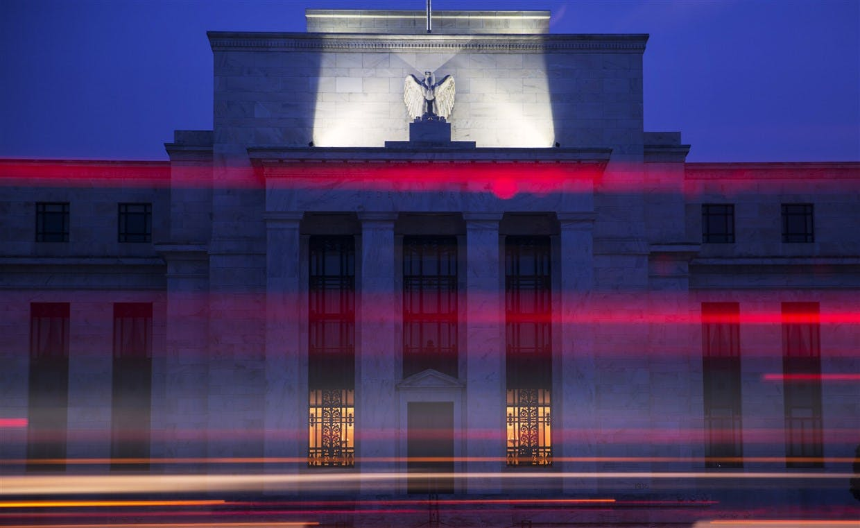The Marriner S. Eccles Federal Reserve building in Washington