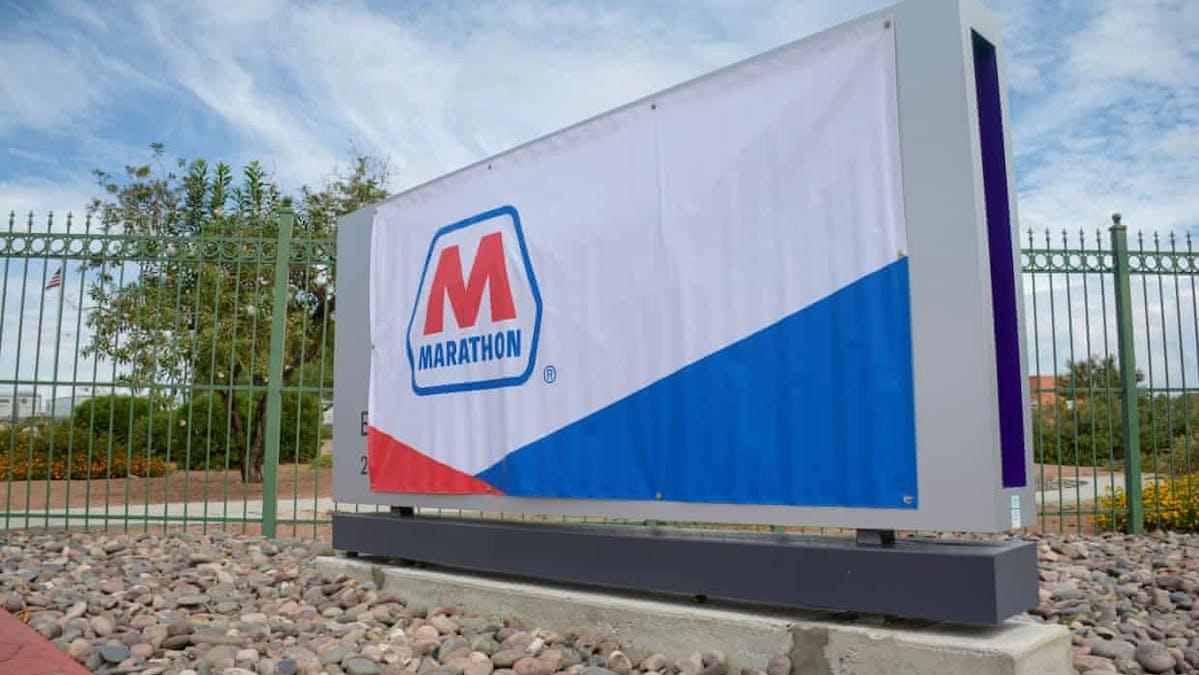 Marathon petroleum texas usa oil company