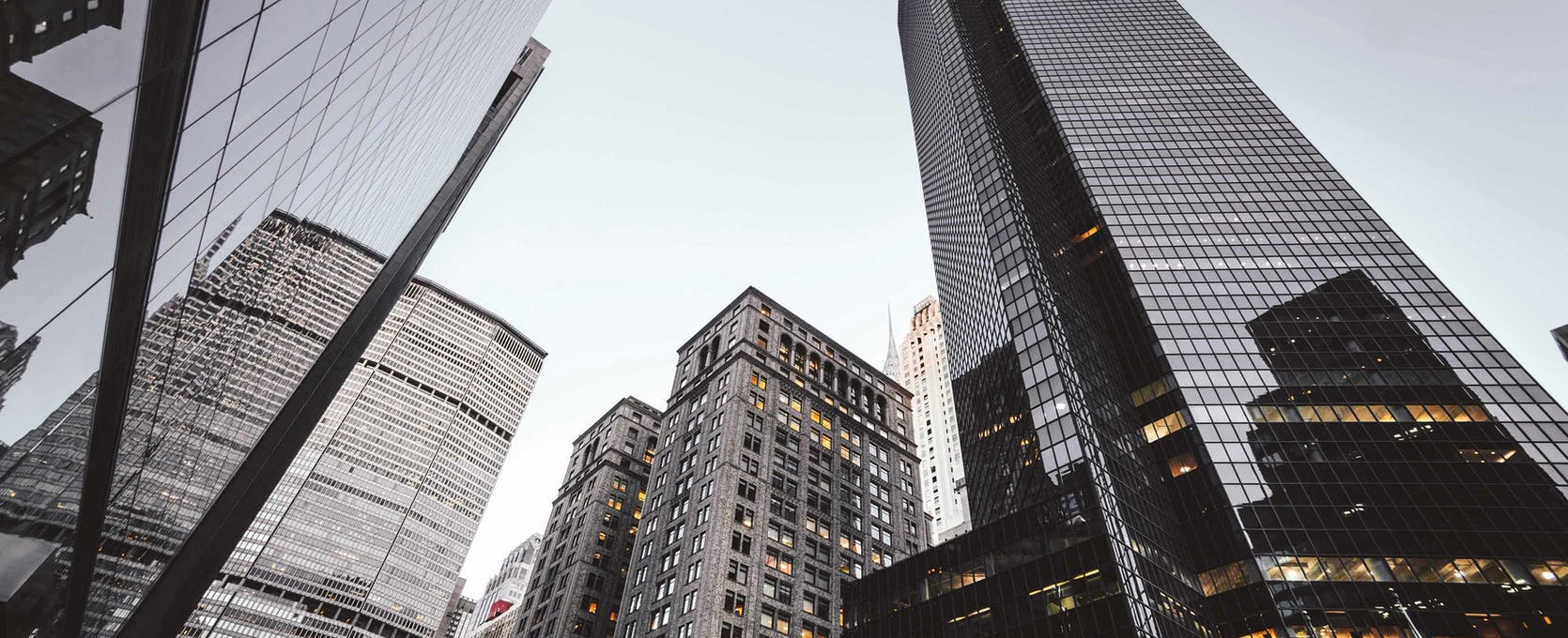 Commercial real estate properties in city