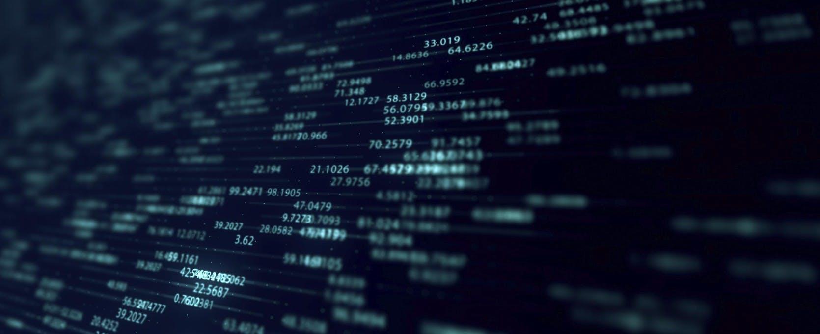 Digital values of SEC filings