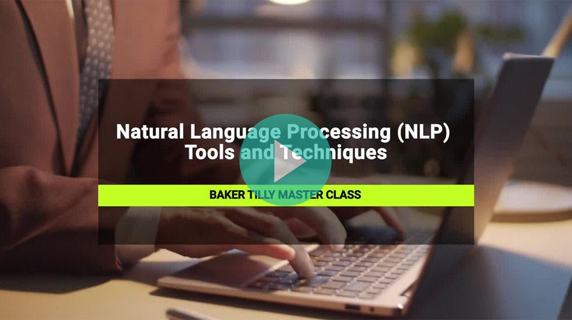 Natural language processing (NLP) tools and techniques video