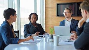 business leaders meeting