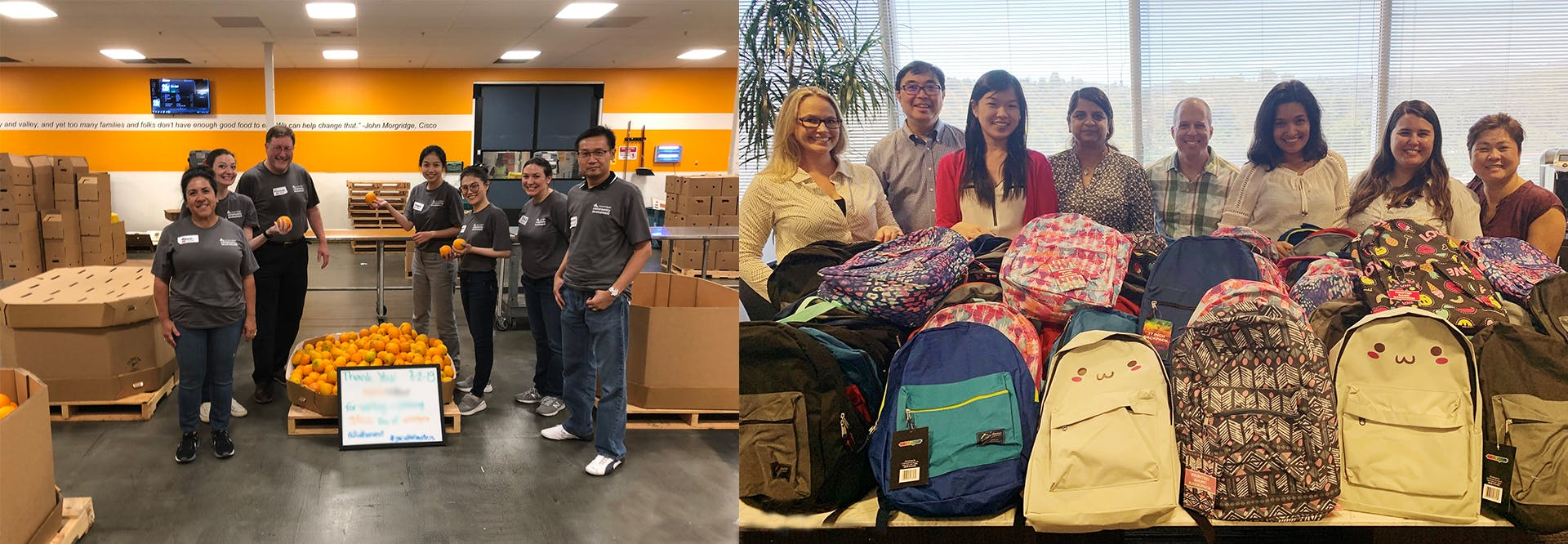 Baker Tilly California team members participate in various stewardship activities in the community