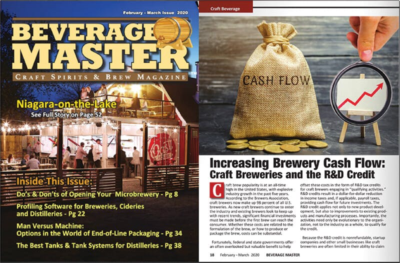 February/March issue of Beverage Master