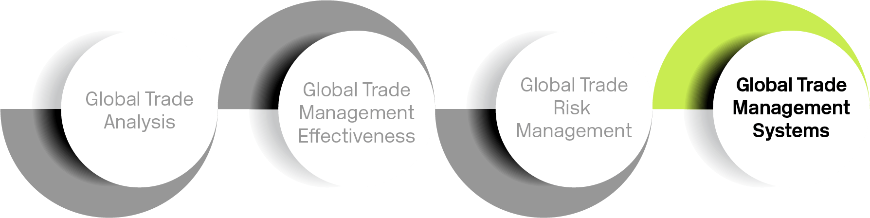 Graphic of Global trade management systems