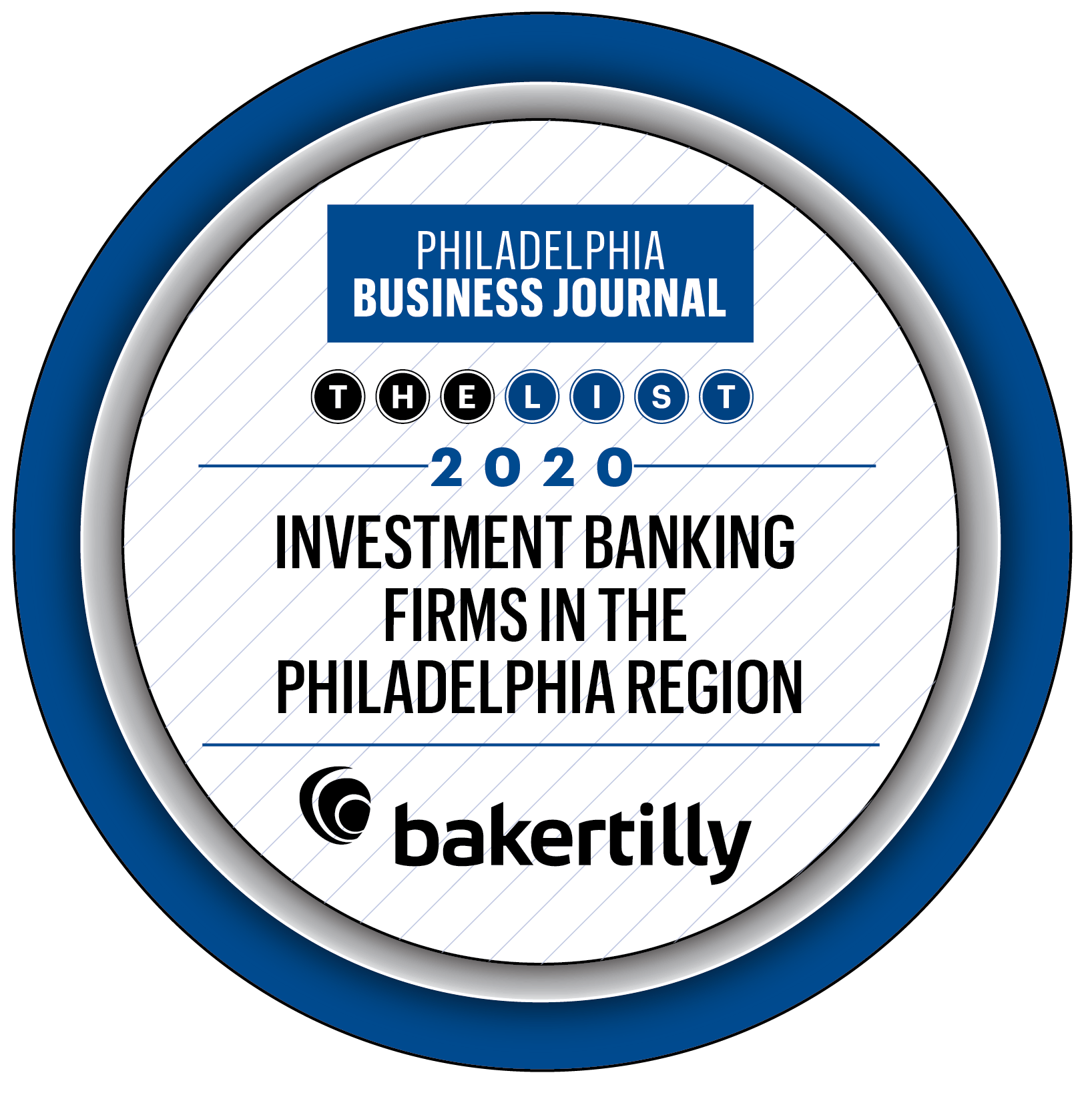 Baker Tilly Named One of Philadelphia's Top Investment Banking Firms by Philadelphia Business Journal 2020