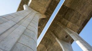 Concrete materials for bridge