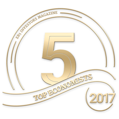 Baker Tilly recognized as Top 5 Economists by EB-5 Investors Magazine, 2017
