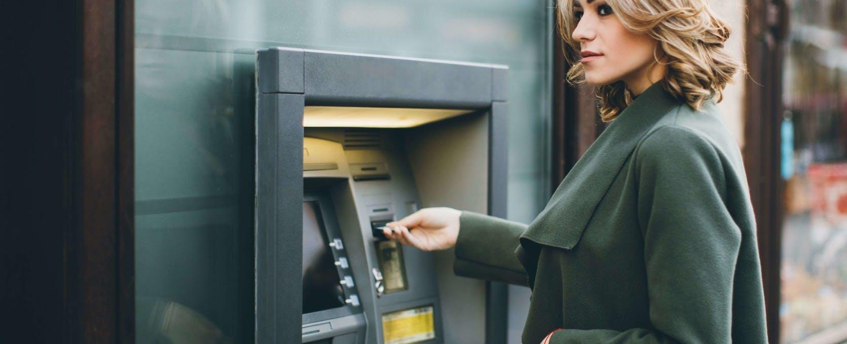 Customer banking at ATM