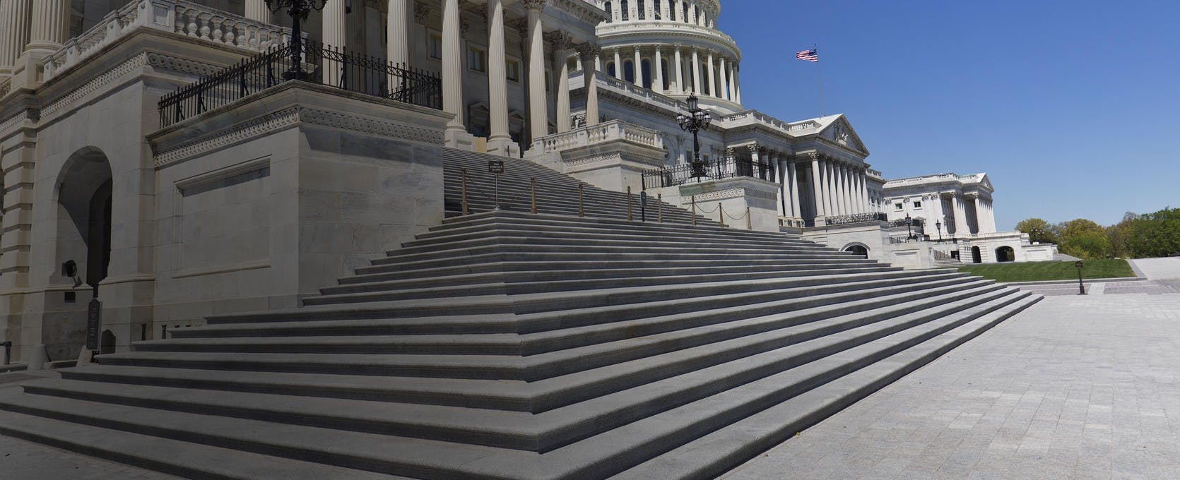 Steps of the United States Capitol building