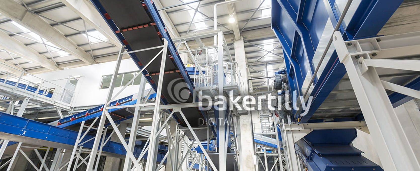 Industrial manufacturing plant