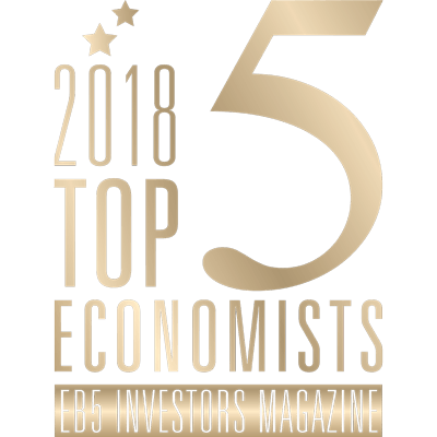 Baker Tilly recognized as Top 5 Economists by EB-5 Investors Magazine, 2018