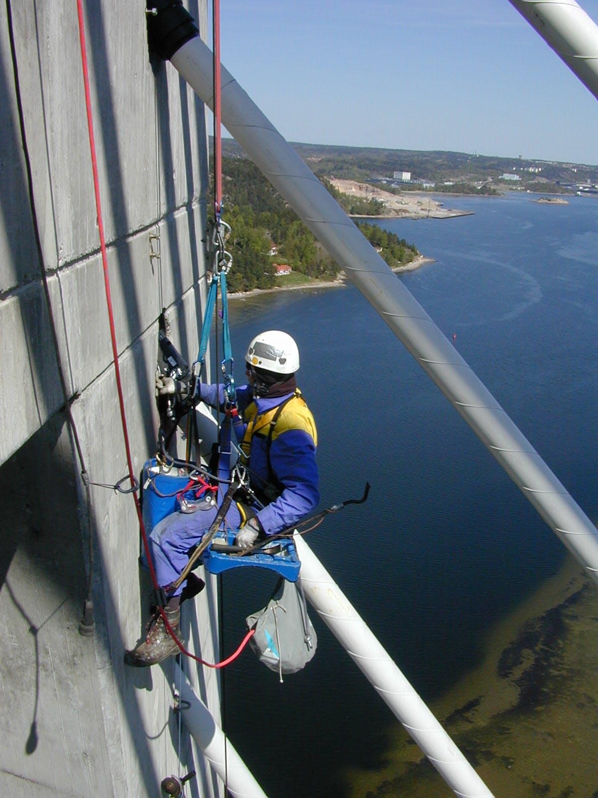 Arbeit an der Uddevallabron