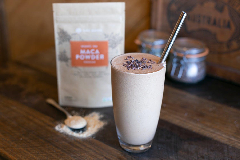 Organic Raw Maca Powder Smoothie