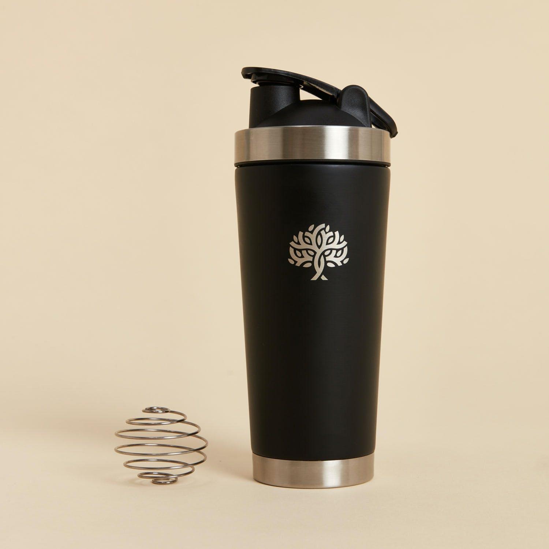The Bare Shaker - stainless steel matte black