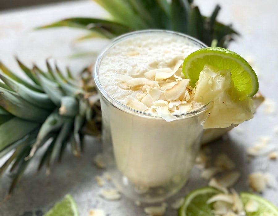Immune-Boosting Pina Colada Smoothie