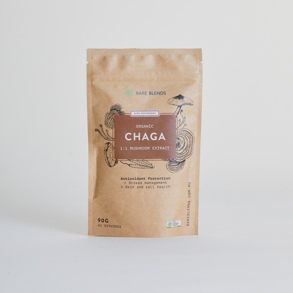 Organic Chaga Mushroom Extract