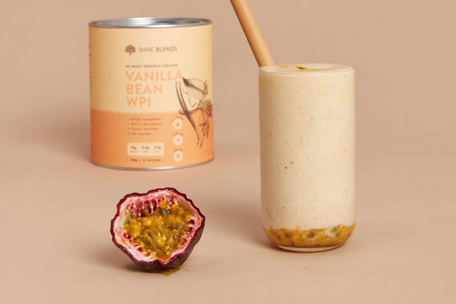 Vanilla Passionfruit Smoothie