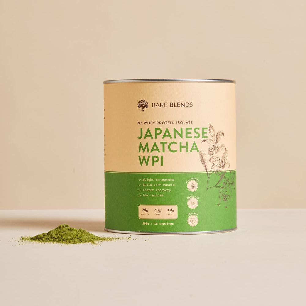 japanese matcha whey protein isolate