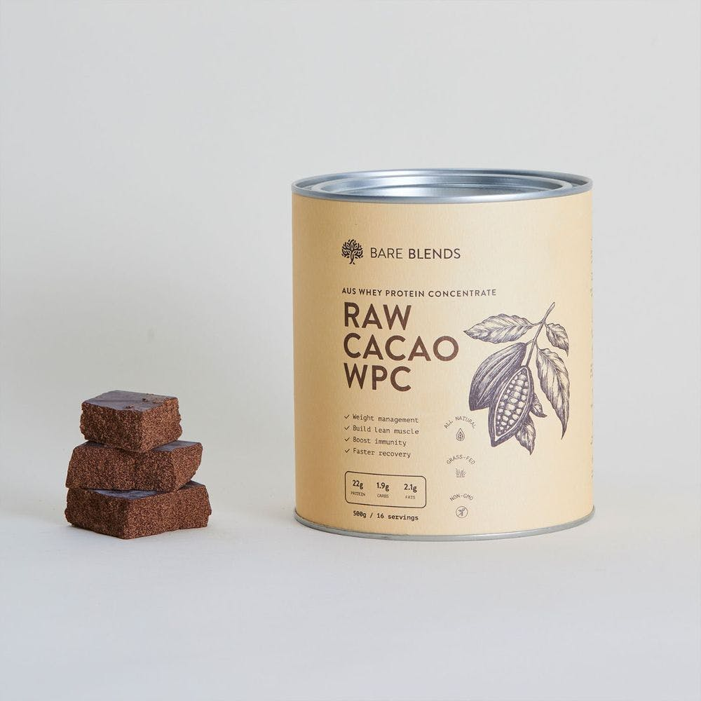 raw cacao whey protein concentrate