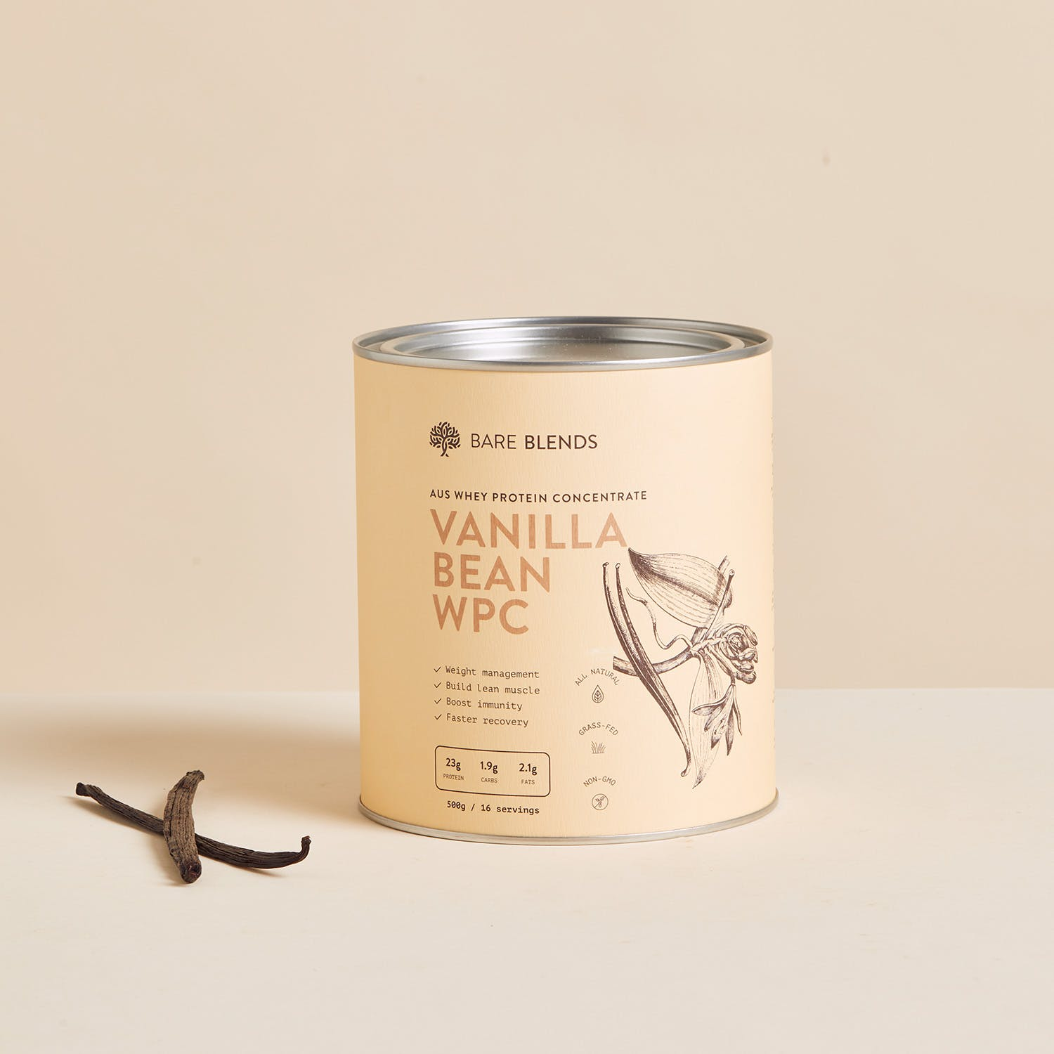 vanilla bean whey protein concentrate