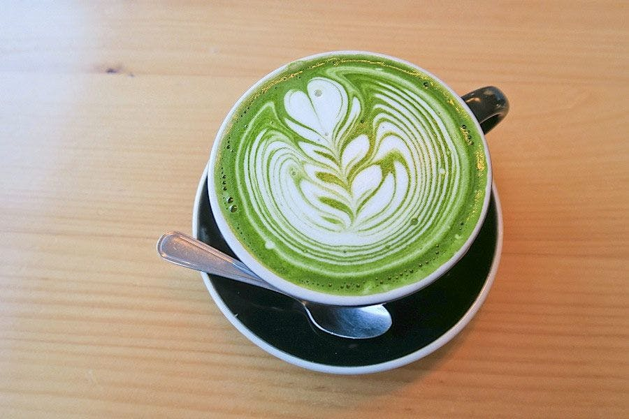 The Matcha Latte