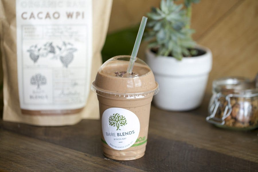 Cacao Mint Crunch Smoothie