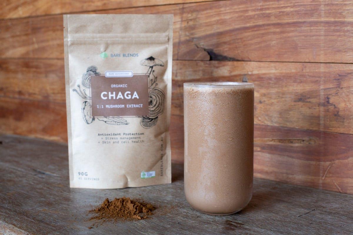 Chaga Cacao Immunity Smoothie