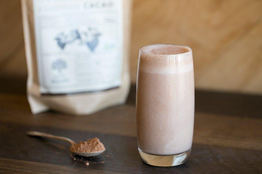 Hazelnut Iced Cacao