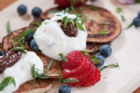 Naughty Health Protein Pancakes