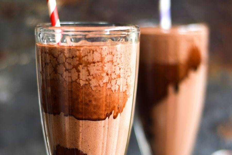 Double Chocolate Thickshakes