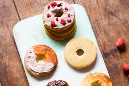 Vanilla Bean Protein Donuts