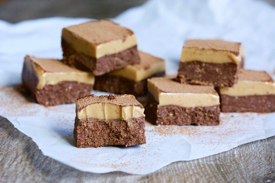raw peanut butter slice recipe