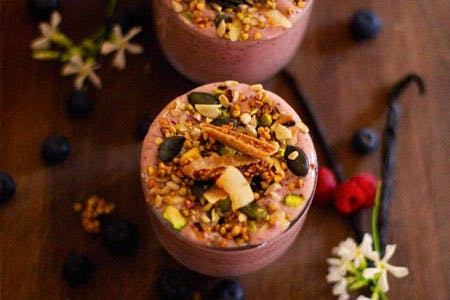 The Base Body Babes' Berry Smoothie