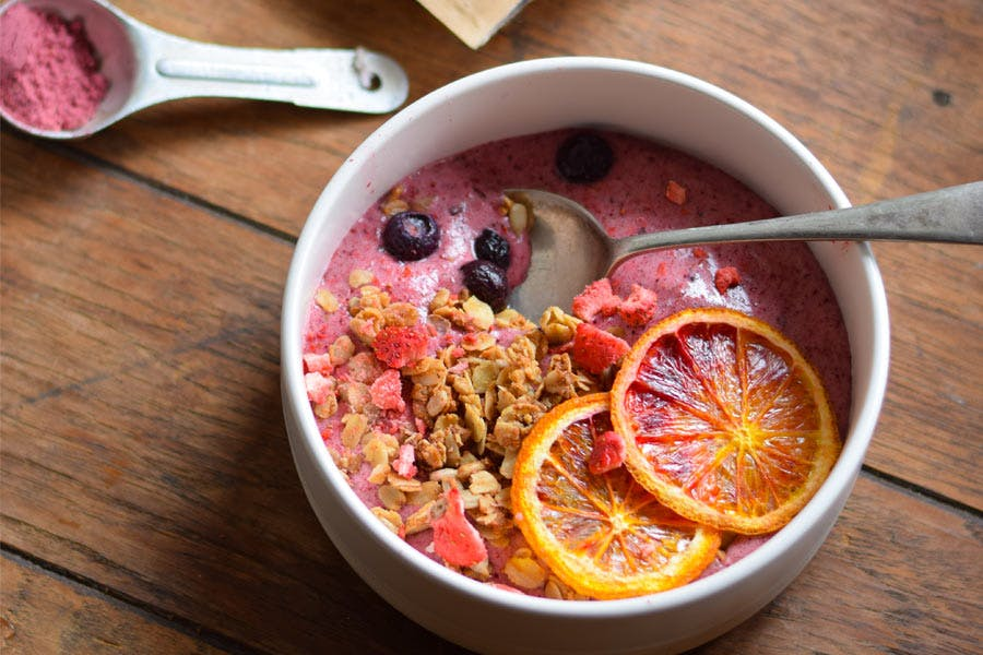 Bare Berries Bowl With Vanilla WPI & Granola