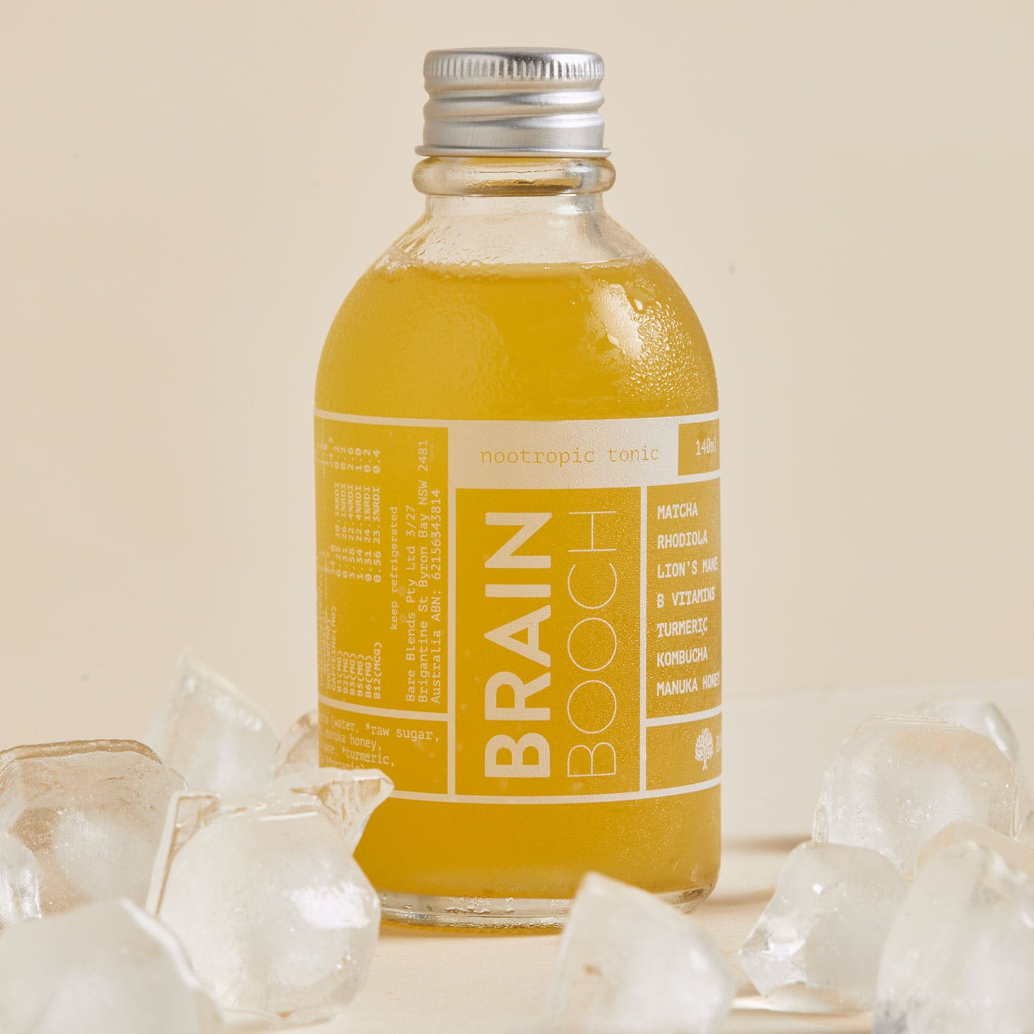 Brain Booch ice cold