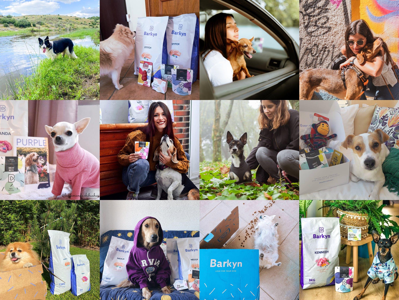 Selección de fotos de clientes de Barkyn