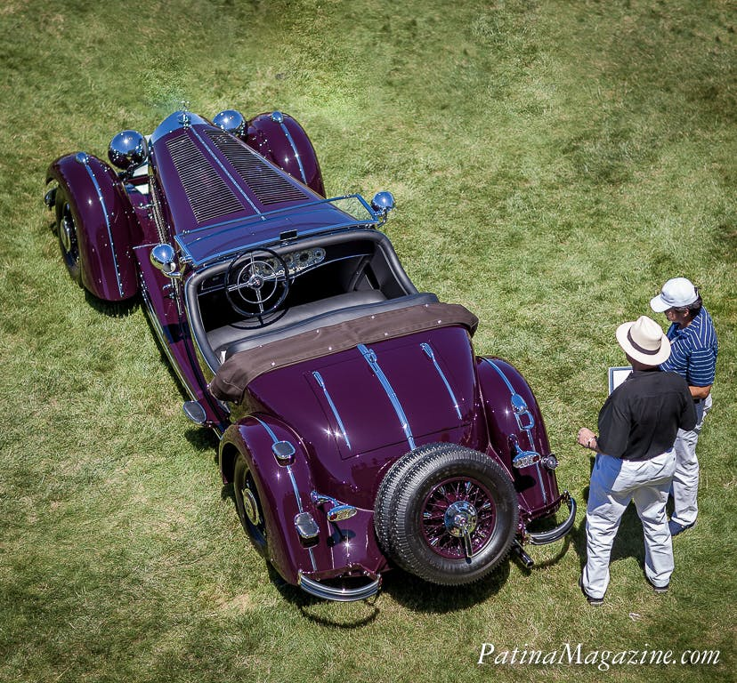 The star of the show at the 2016 Elegance at Hershey where the 1935 Mercedes-Benz 500K captured the Governor's Cup.