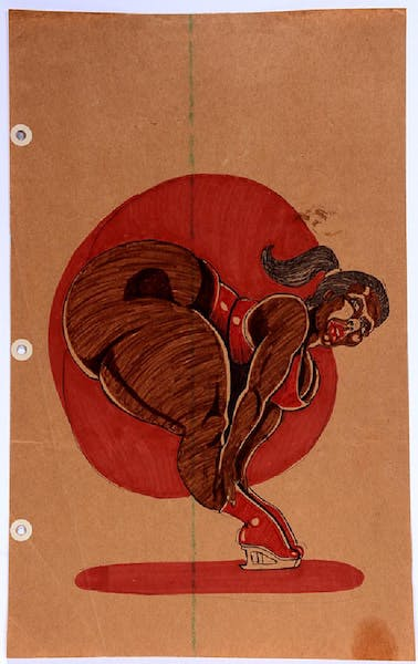 Erotic drawings by African-American artists popular with folk art collectors