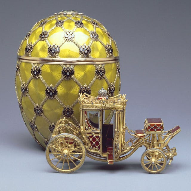 The Coronation Egg. Image: Fabergé