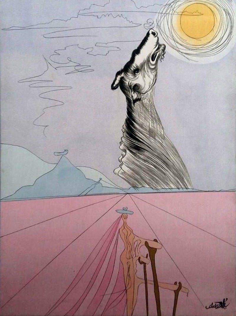 SALVADOR DALÍ. Las 12 tribus de Israel