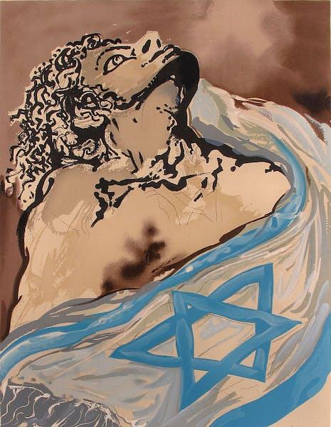 Las 12 tribus de Israel por Salvador Dalí