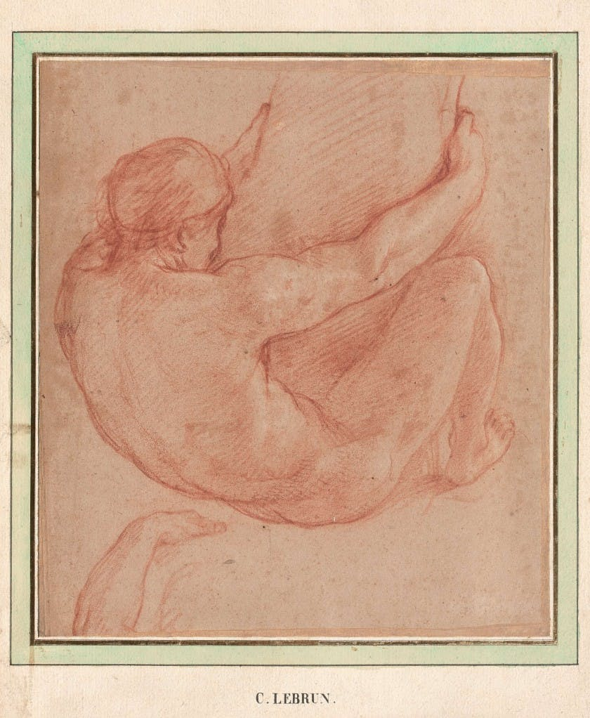 Charles Le Brun, Study for 'The Battle of Granicus.' Image: Artcurial