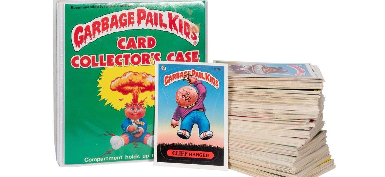 GARBAGE PAIL KIDS 5 X 7 SERIES 2 1986 TOPPS COMPLETE BASE CARD SET OF 15